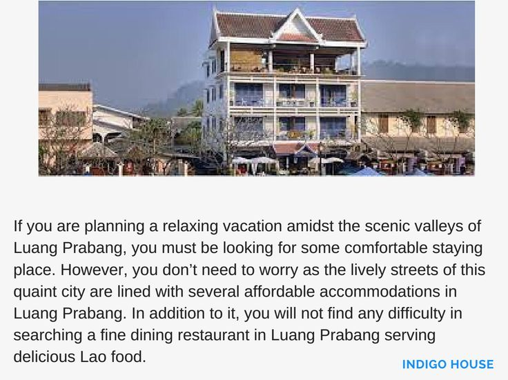 Keep these points in mind before choosing a good accommodation in Luang Prabang. Make a wise choice and make you holiday enjoyable with a good staying place as well as delicious Lao food.