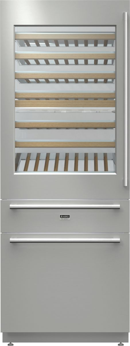 Asko integrated wine chiller & freezer (model RWF2826) for sale at L & M Gold Star (2584 Gold Coast Highway, Mermaid Beach, QLD). Don't see the Asko product that you want on this board? No worries, we can order it in for you!