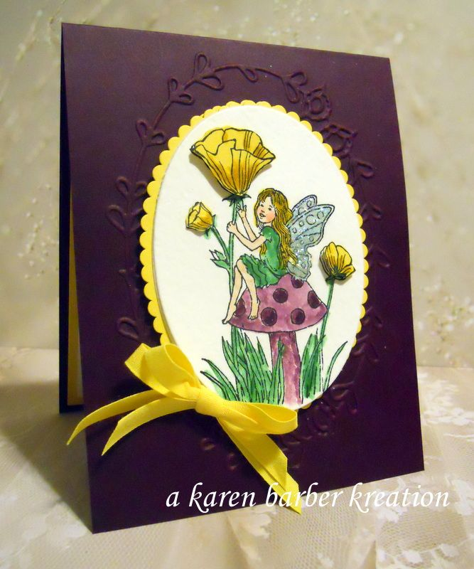 CC624 DT Sample- Karen's card