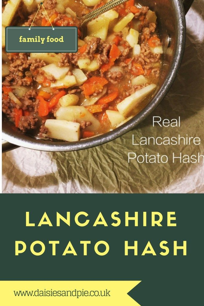 lancashire potato hash, traditional lancashire potato hash, tatty hash, tattle hash, tatyter ash, easy mince recipe, easy family food from daisies and pie