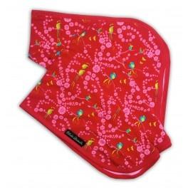 Filt - Organic Cotton Blanket - Cherry Blossom Birds - Roliga Nappar