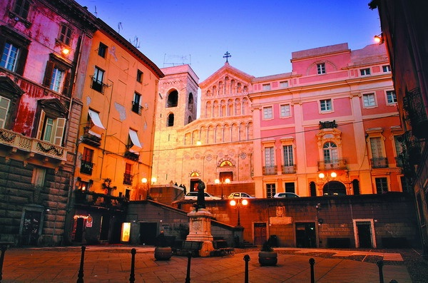 Duomo di Cagliari, Sardinia.