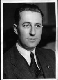 Hans Georg Fritzsche (April 21, 1900 – September 27, 1953) was a senior German Nazi official, ending the war as Ministerialdirektor at the Propagandaministerium.