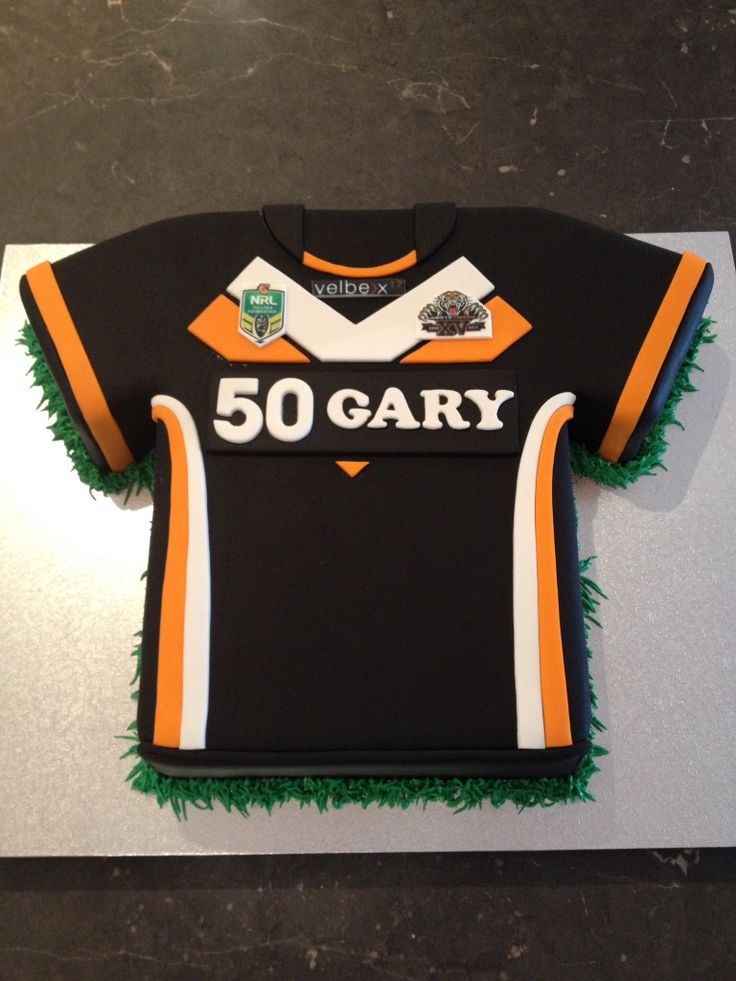 West tigers jersey cake