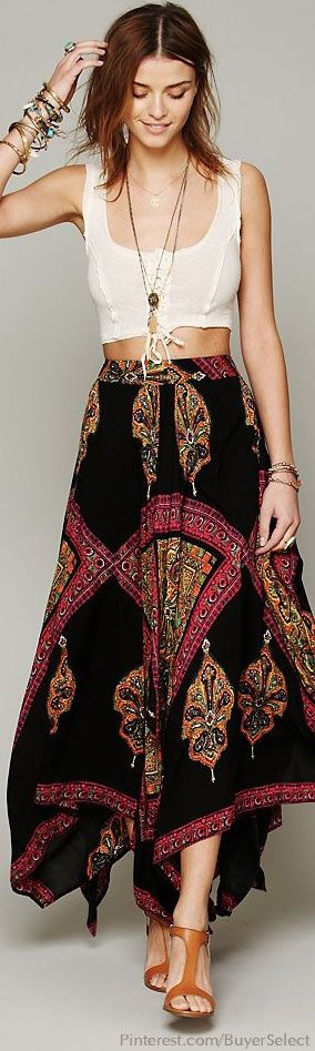 If I was 100 lbs lighter and 10 years younger!   Gypsy:  #Bohemian fashion.