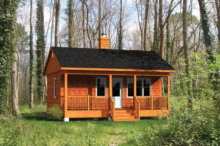 Cabin style house plan 1 beds 1 baths 384 sq ft plan 25 for 300 square foot cabin