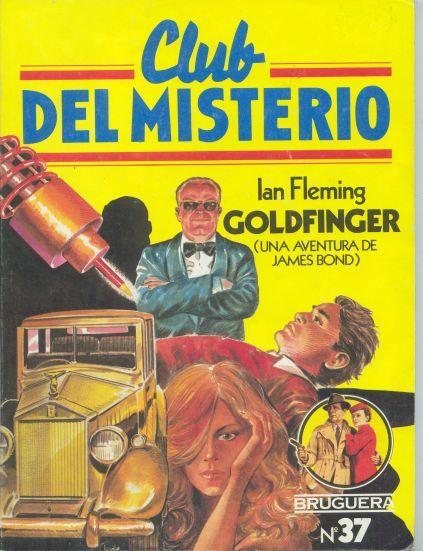 Coleccion de libros policiacos Club del Misterio editorial Bruguera España años 80.