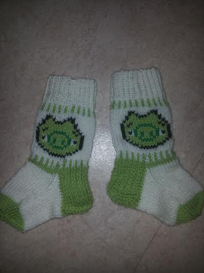 Piggies (Angry Birds) - socks
