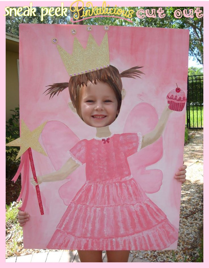 Pinkalicious Photo Op Prop. Every girl in kindergarten and first grade would LOVE this!