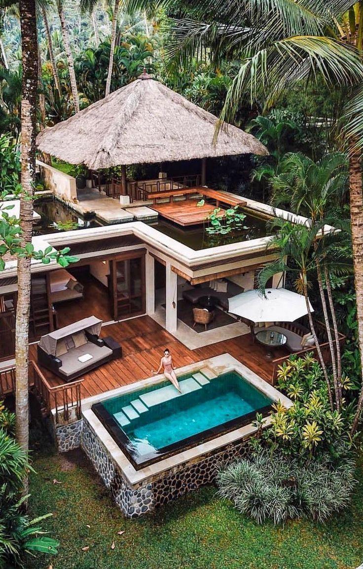 Wer eine Kabine will, kann dies in den Tropen wage…