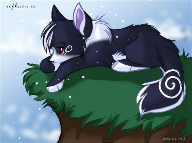 Sad and adorable   Anime wolves   Pinterest   Wolves, Sad ...