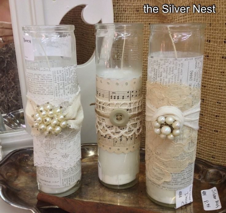 114 best bling vases jars and candles images on pinterest diy centerpieces and 15 years - A buying guide for decorative candles ...