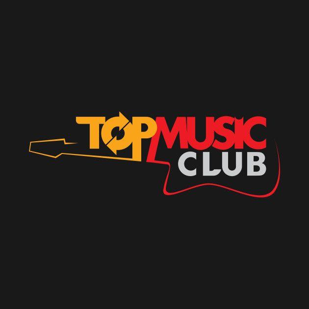 'Top+Music+Club+Guitar+Design' T Shirt design