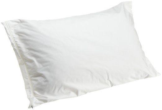 Allersoft 100-Percent Cotton Dust Mite & Allergy Control Queen Pillow Encasement