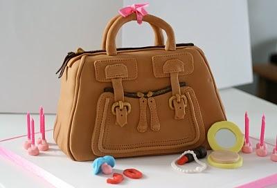 Chloe handbag cake