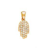 main fatma or rose pavage diamant