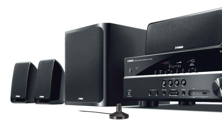 Home Theater Yamaha YHT-2910 com 5.1 Canais de Áudio 500W RMS 4 HDMI 1 USB 3D Subwoofer Ativo - Yamaha com o melhor preço é no Walmart!
