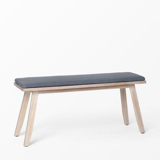 Träbänk med dyna - Möbler- åhlens.se - shoppa online!