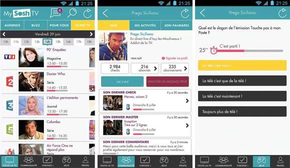 #EPG Sosh se lance dans la Social TV avec un service connecté, ludique et social