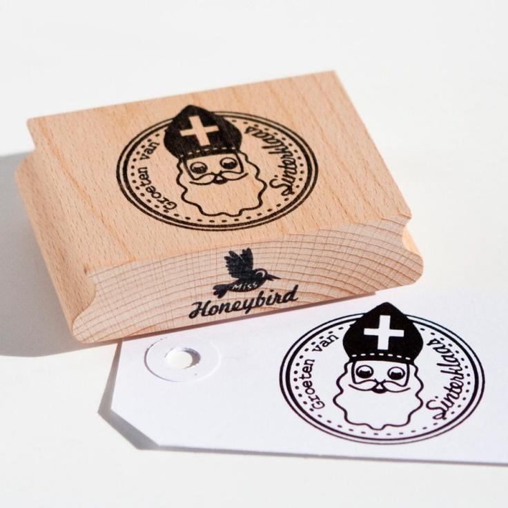 Groeten van Sinterklaas Stamp