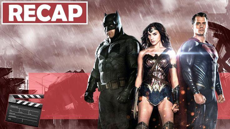 "Batman Vs Superman: Dawn of Justice Movie Review (2016) | RECAP ""Road to Justice League"""