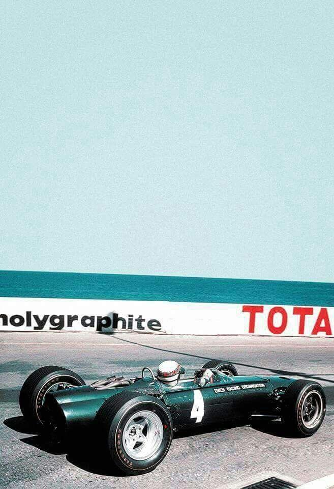 1965 Monaco GP, Monte Carlo : Jackie Stewart, BRM P261 #4, Owen Racing Organisation, 3rd.