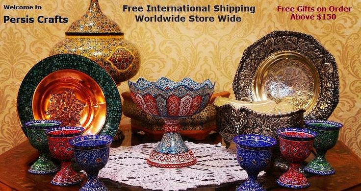 #Persian #handicraftstore  #decoration #design #christmassale #freegift  http://ift.tt/1JbKuWp - Shop with Persis Crafts (Persian Handicrafts Online Store) @ http://ift.tt/1JbKuWp - Free Worldwide Shipping.