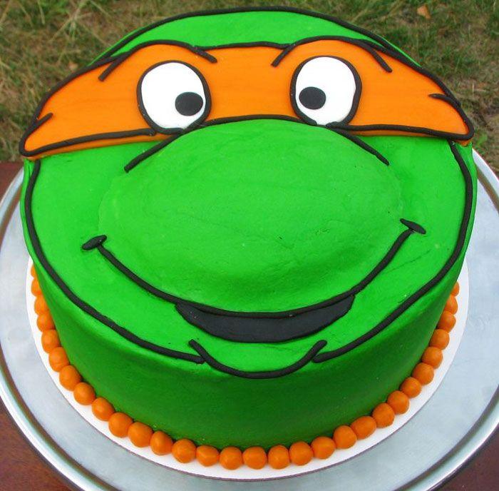 Yummy Teenage Mutant Ninja Turtle Cake Ideas : Ninja Turtle Cake Pan