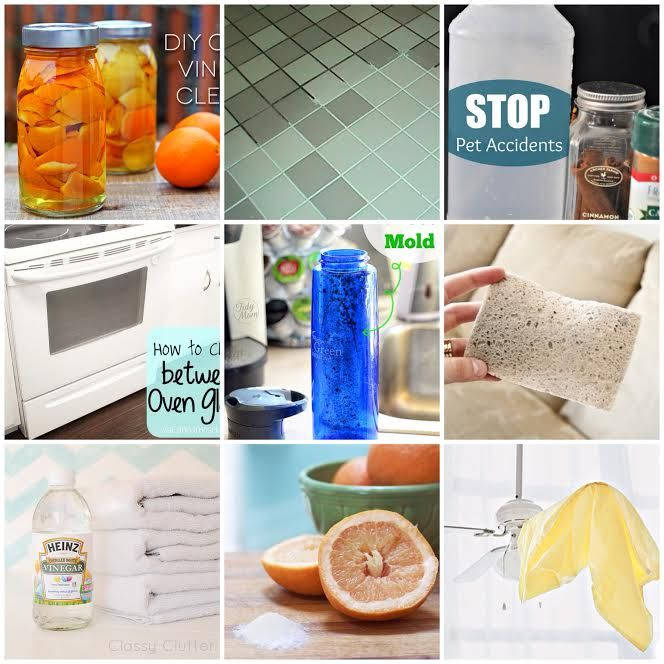 25 of the Best Cleaning Tips