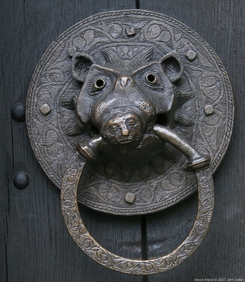 Pictures - Vintage, odd door knockers - National Trendy Living   Examiner.com