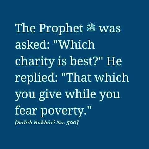 """""""#Satan threatens you with #poverty and orders you to #immorality while #Allah…"""