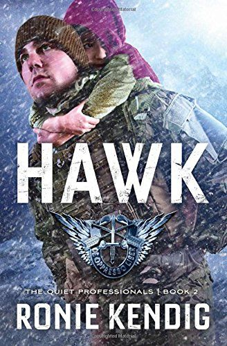 "Title: Hawk Author: Ronie Kendig Publisher: Shiloh Run Press ISBN: 978-1-62416-318-0 ""That's it. They're coming after me. They're going to try to kill me. Trust me, I've heard that code enough time..."