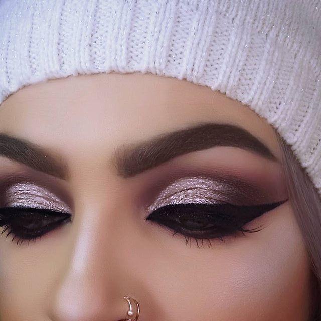 Pink purple mauve Makeup