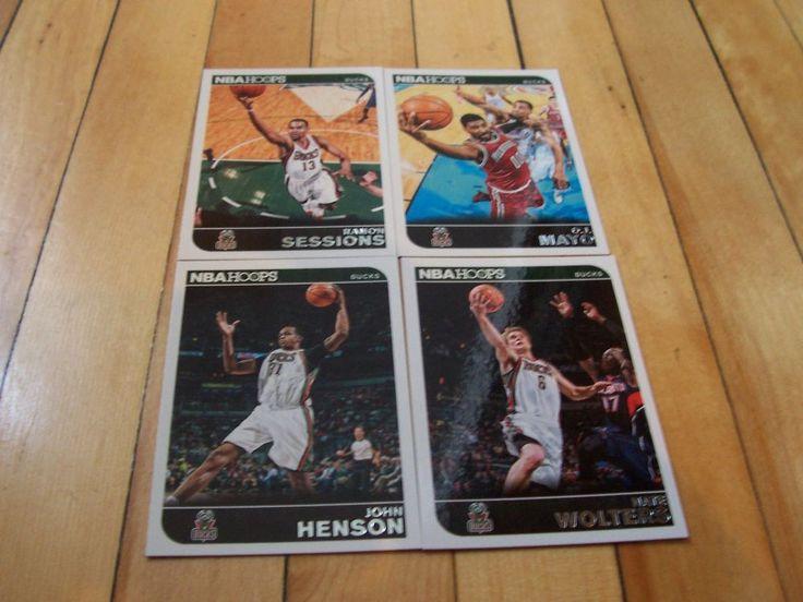 2014-15 Hoops Bucks 4 Card Lot RAMON SESSIONS O.J. MAYO NATE WOLTERS JOHN HENSON