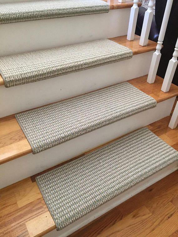 Sunburst Melody 100% New Zealand Wool! TRUE Bullnose™ Carpet Stair Tread  Runner Replacement For Style, Comfort U0026 Safety (Sold Each)