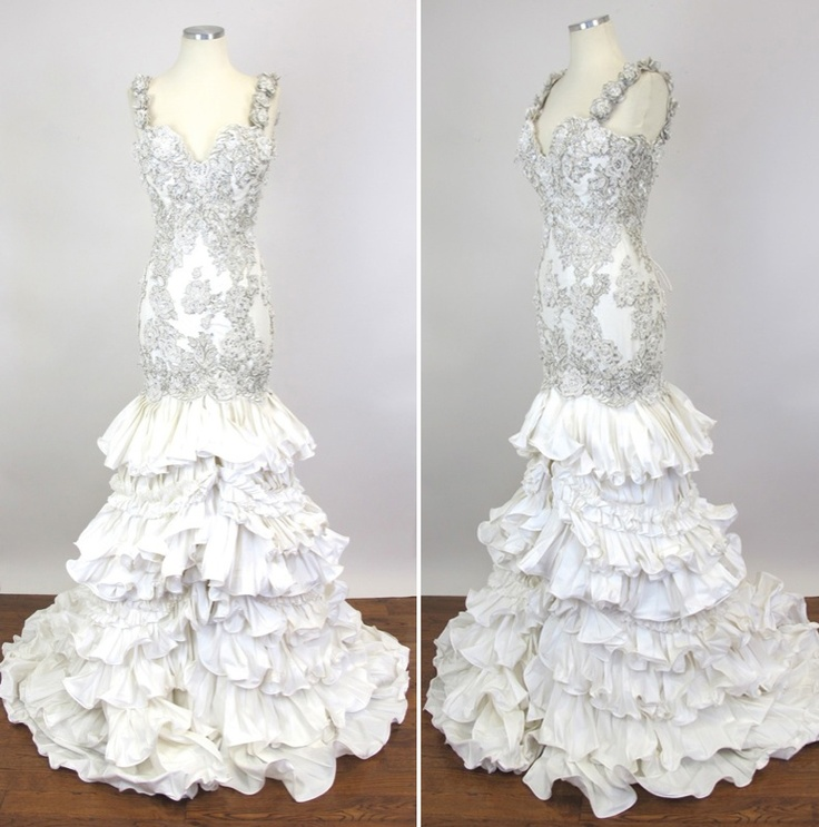 17 Best Images About Beautiful Wedding Gowns On Pinterest