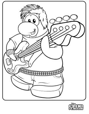 clubpenguin coloring pages new club penguin coloring page club penguin cheats 2013