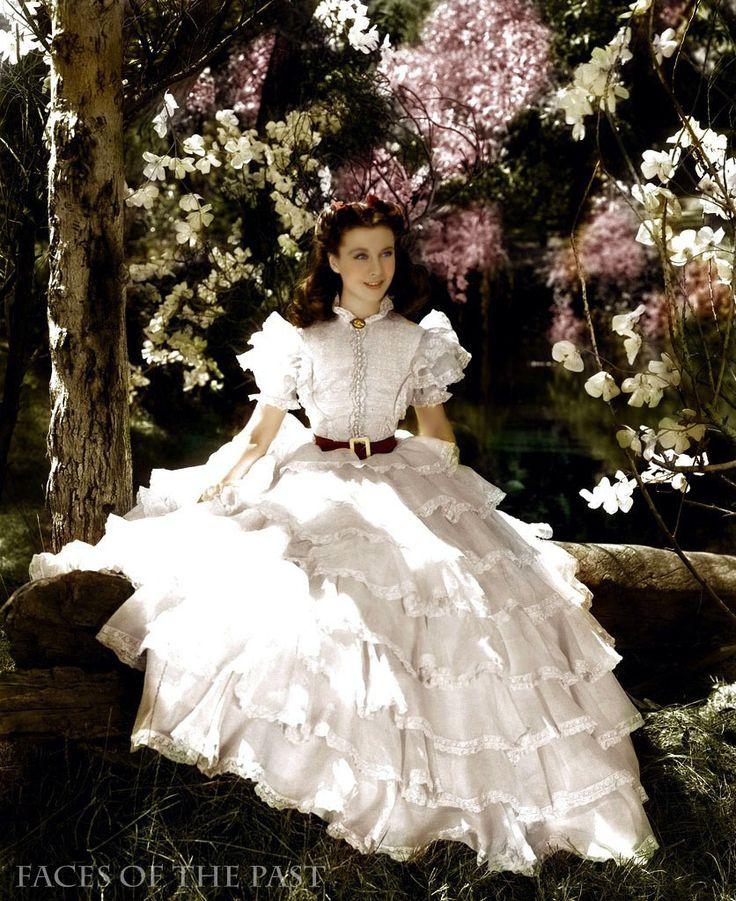 Robe de mariée inspiration Autant en emporte le vent