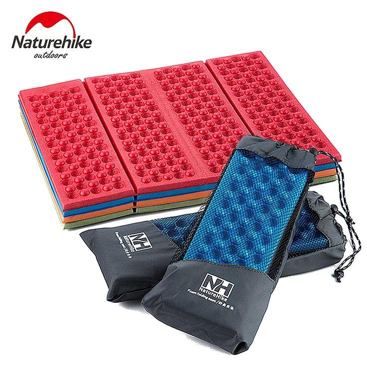 Naturehike Camping Mat Seat Foam Inflatable Mats Folding Portable Outdoor Beach Moistureproof Mattress Pad Egg Slot Yoga