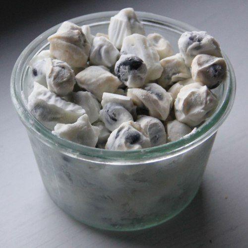 Healthy Snacks: Frozen Yogurt Blueberry Bites Recipe   CookingLight.com
