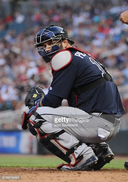 News Photo : Atlanta Braves Catcher A.J. Pierzynski [2014]...