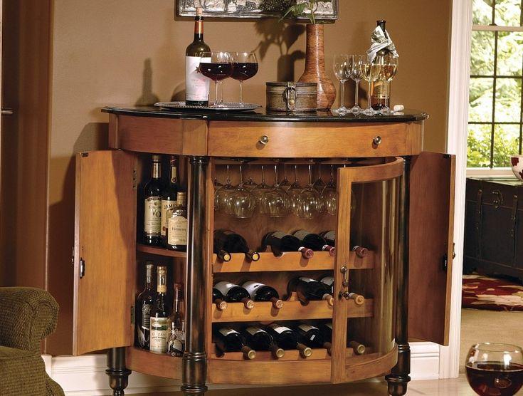 modern corner drinks cabinet