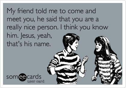 BAHAHA!!! This one made me laugh so hard! :D #Christianpickuplines