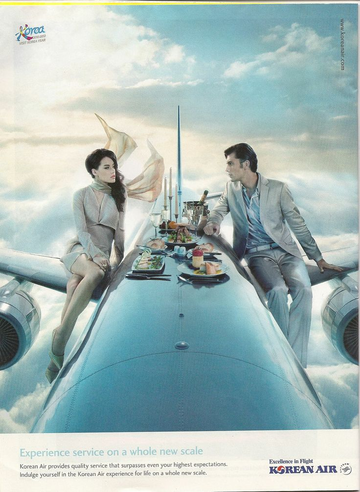 """.Korean Air advertising """"Excellence in flight""""   Korean Air has the most amazing television ads."""