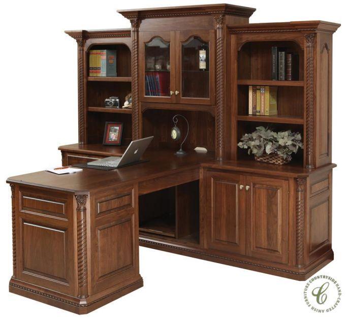 New Haven Real Wood Partner Desk