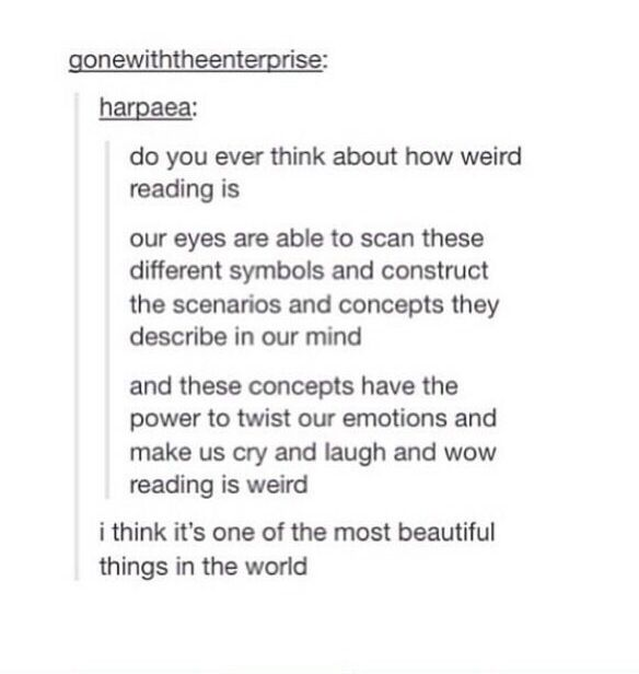 It is one of the beautiful things in the world