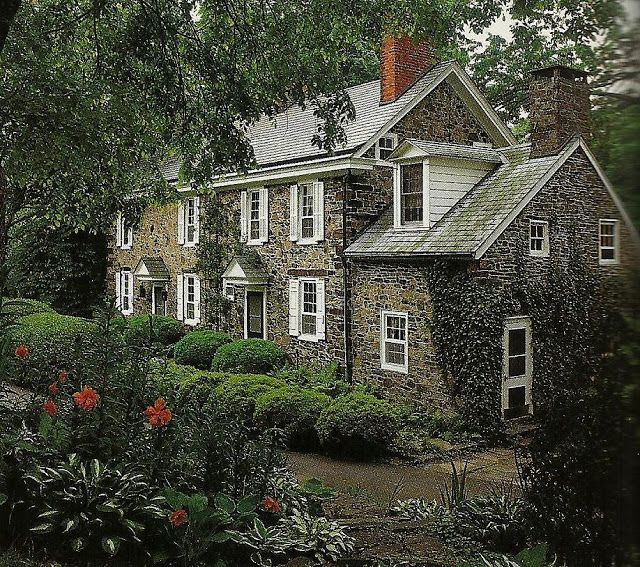 Renny Raynold's 18th century Pennsylvania, Georgian farmhouse