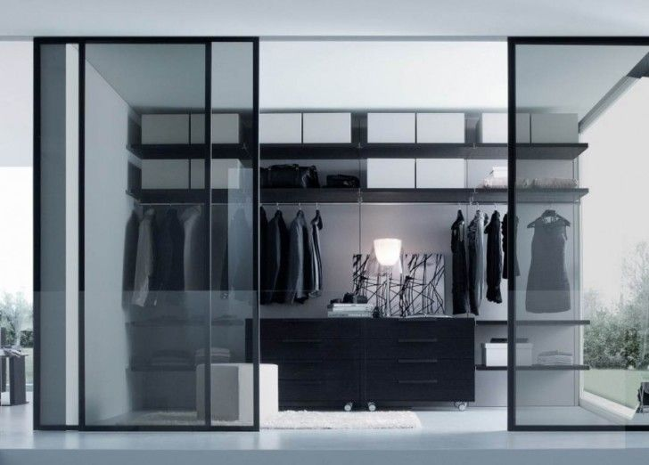 Using Internal Sliding Glass Doors For Your Home Setup Remarkable Glass Closet Closet Design Layout Dressing Room Design Glass Closet