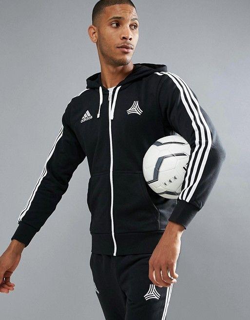 adidas Tango Soccer Hoodie In Black AZ9734