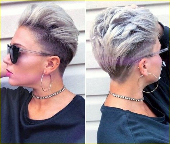 15 Kurze Undercut Frisuren Jahr 2019 2020 Frisur Trend Short Hair Undercut Hair Styles Short Punk Hair